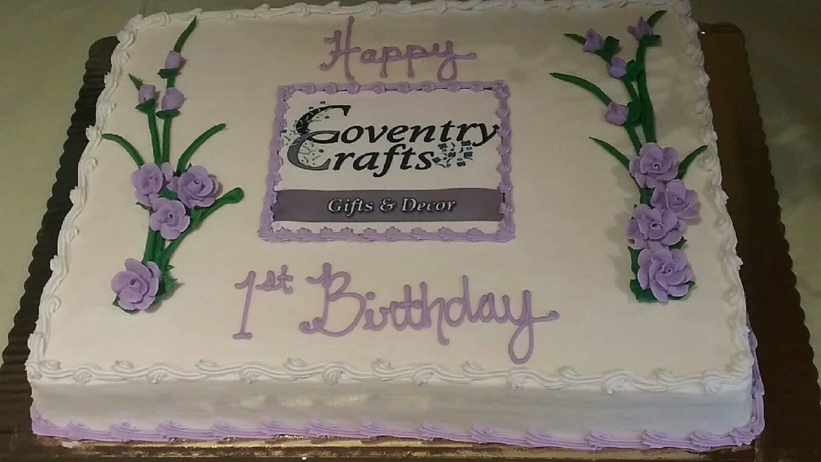 First Birthday Cake April 13, 2019 (2)