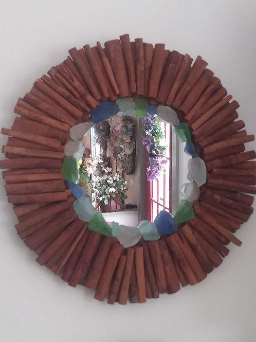 Cinnamon Stick Mirror