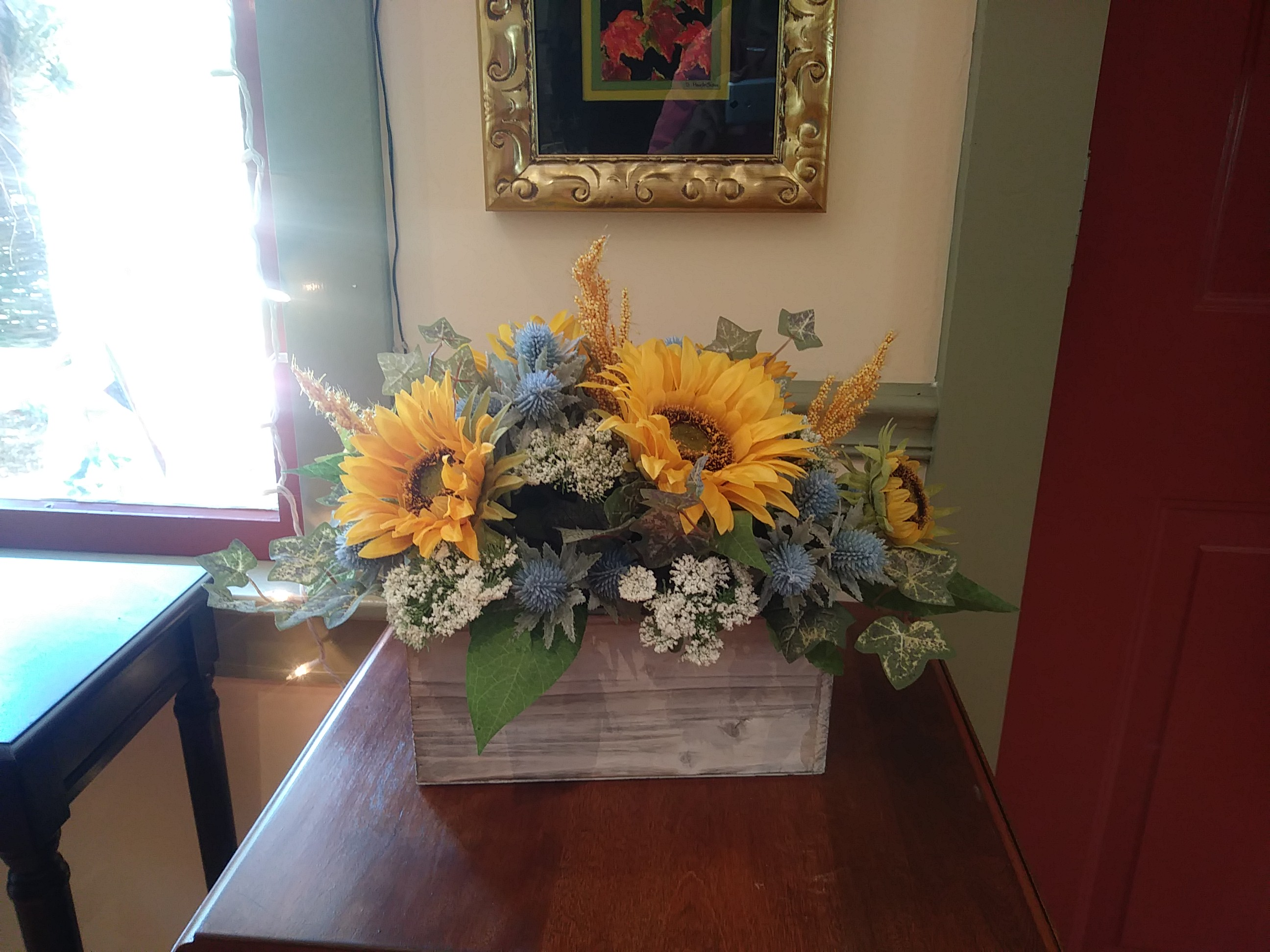 Sunflower centerpiece by Coventry Crafts