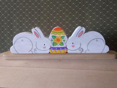 Double Easter Bunnies