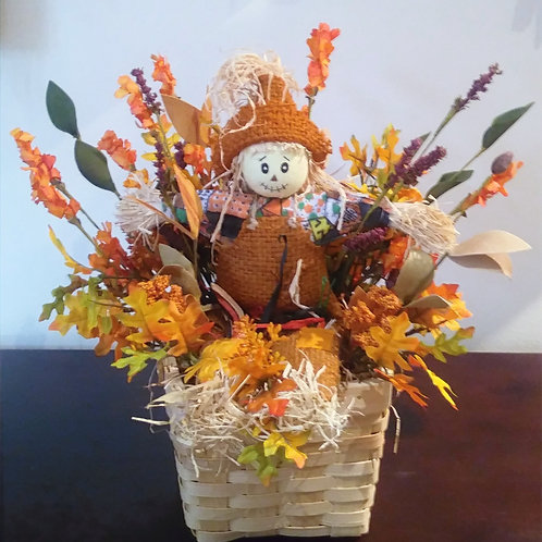 Scarecrow Basket