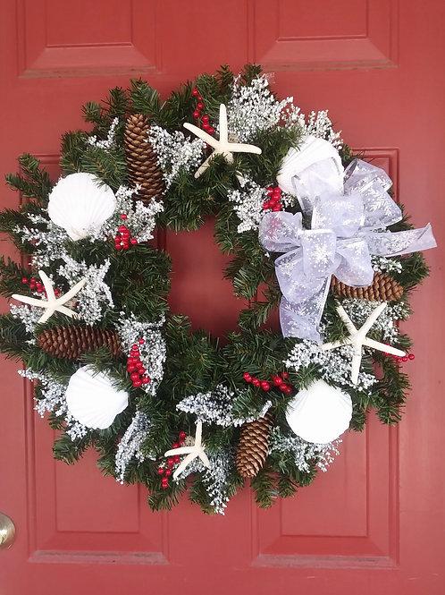 Cape Cod Christmas Wreath