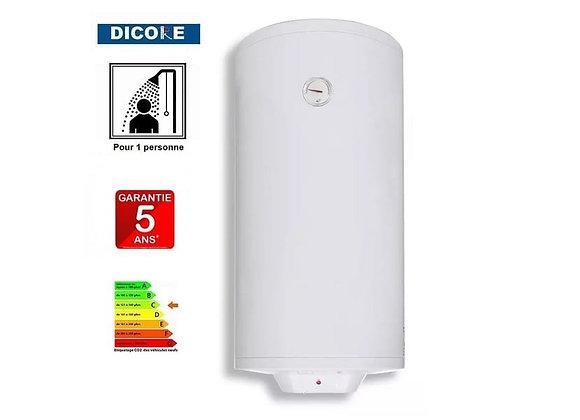 Chauffe-eau électrique DICORE classique 80l thermostat externe réglable