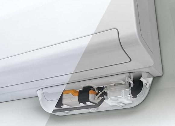 Pompe de relevage de condensats avec réservoir Omega Pack Sauermann