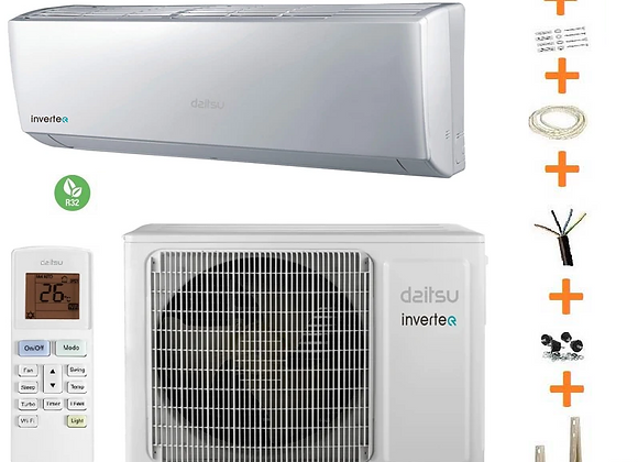 Climatiseur reversible Daitsu AURA 2.5 KW wifi compris