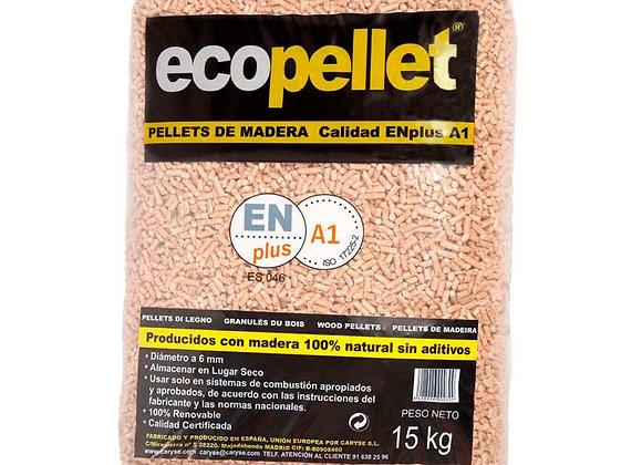Granulés de bois écologique sac 15 kg