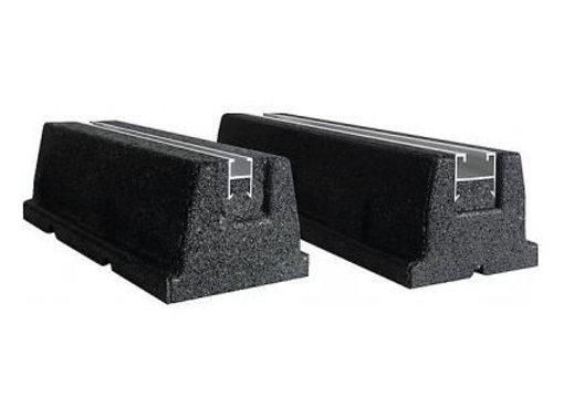 1 paire de support au sol Rubber foot 600mm