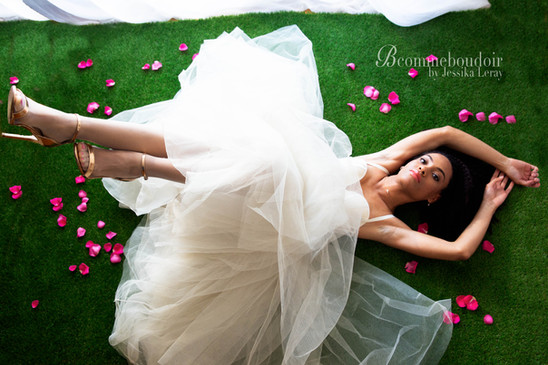 inspiration future mariée, boudoir mariage