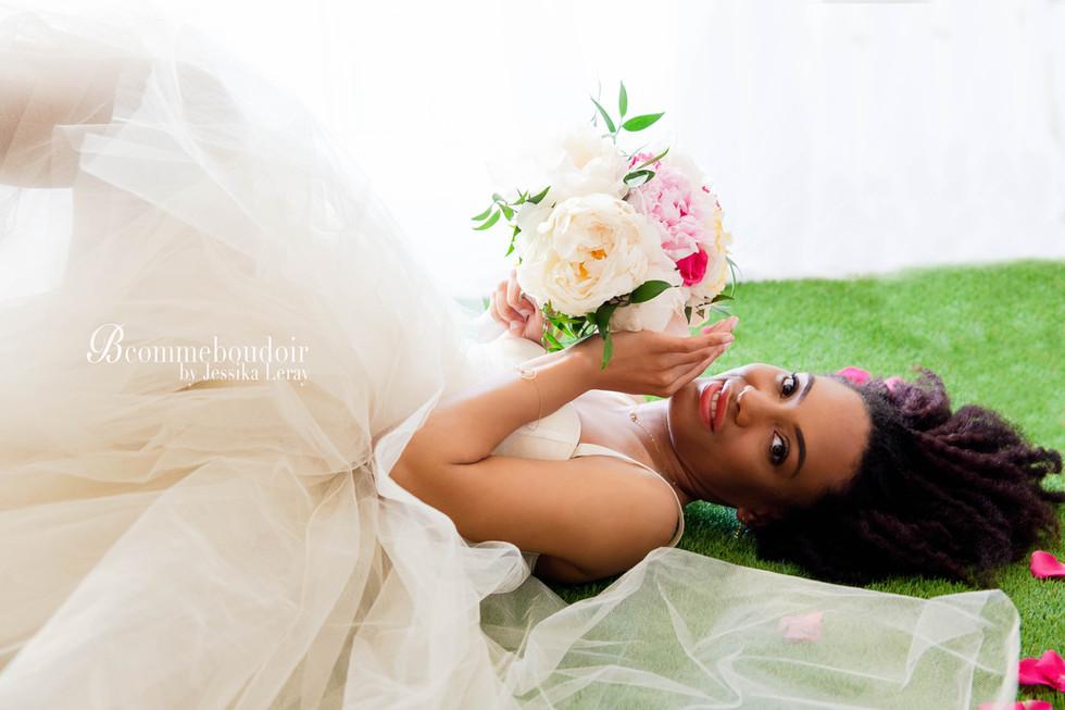 inspiration sensuelle boudoir mariage