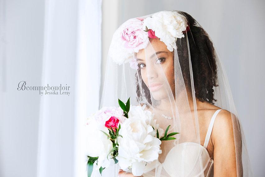 séance photo boudoir mariage, femme photographe