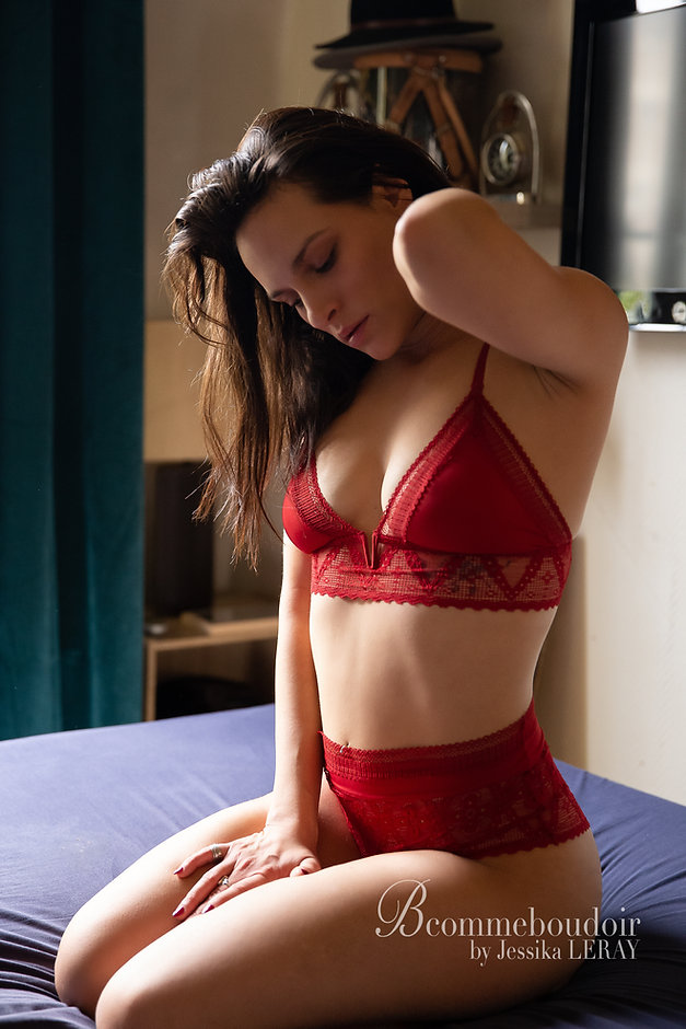 portrait boudoir sensuelle