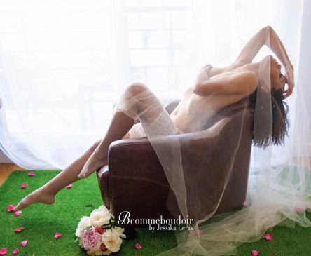 séance photo inspiration boudoir marige