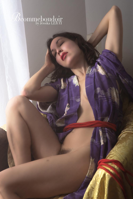 Photographie de nu sensuelle