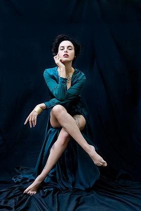 Portrait, sensuelle, femme, photographe, paris