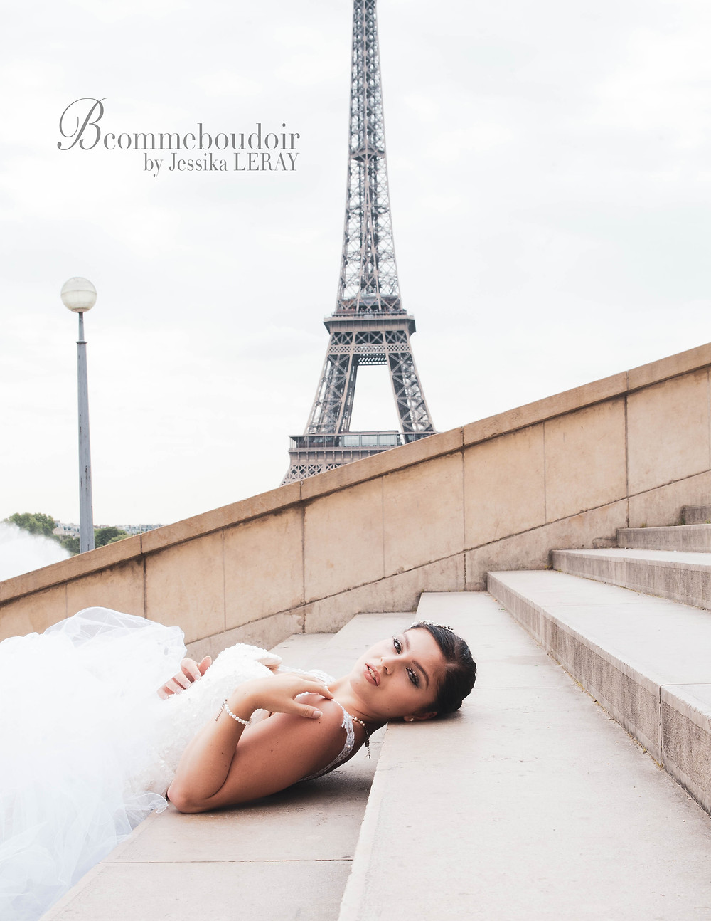 portrait Mariée, future Mariée, bride to be, boudoir, cadeau, Paris, studio, Jessika LERAY, Photographe,