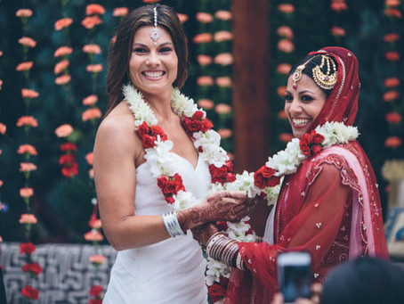 The very famous Indian Lesbian Wedding