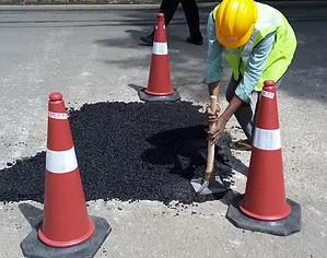 Pothole tamping