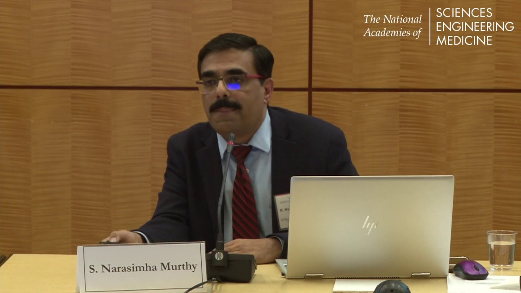 Dr. Narasimha Murthy's at the National Academies of Sciences, Engineering, and Medicine (NASEM), Health and Medicine Division on May 20, 2019.