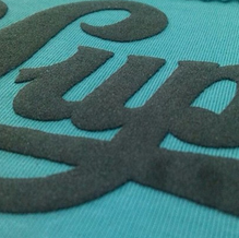 Screen-Printing-With-Suede-Ink-On-T-Shir