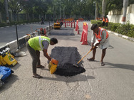 RMZ Ecoworld - Road Repair & Maintenance