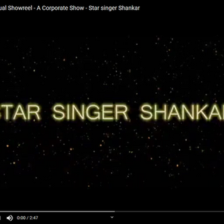 Multilingual Showreel - A Corporate Show - Star singer Shankar