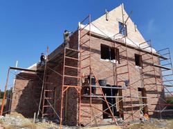 Nouvelle construction en cours