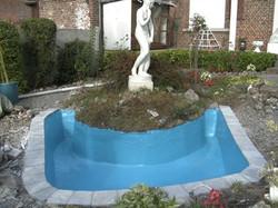 Rénovation étang en polyester