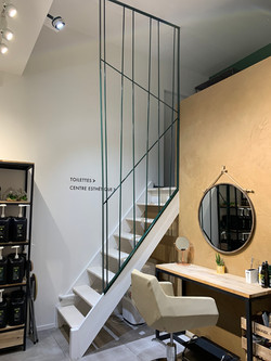 Réalisation rampe escalier
