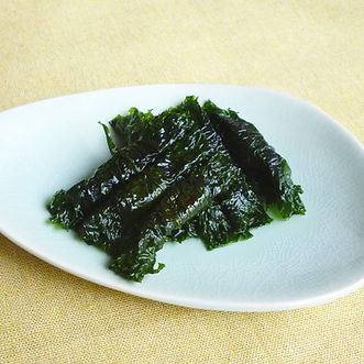 Shiso maki  (Rolled shiso leaves)