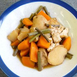 Zakuni (Simmered vegetables)
