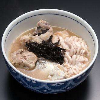 Kandara jiru  (Winter cod soup)