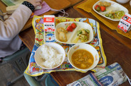 A typical school lunch