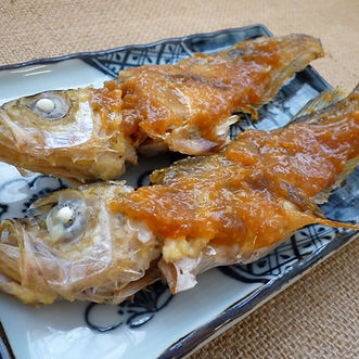 Hata hata no dengaku  (Japanese Sandfish with miso glaze)