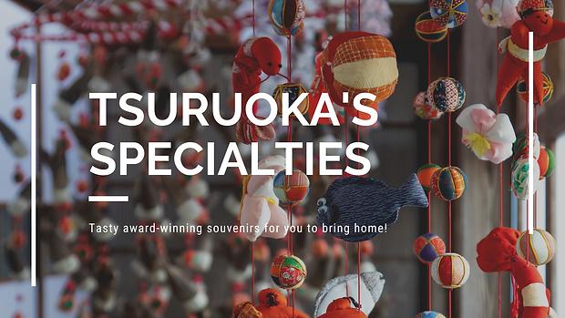 Header for Tsuruoka's Specialties