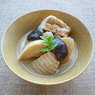 MŌSŌ JIRU  (MŌSŌ BAMBOO SHOOT SOUP)
