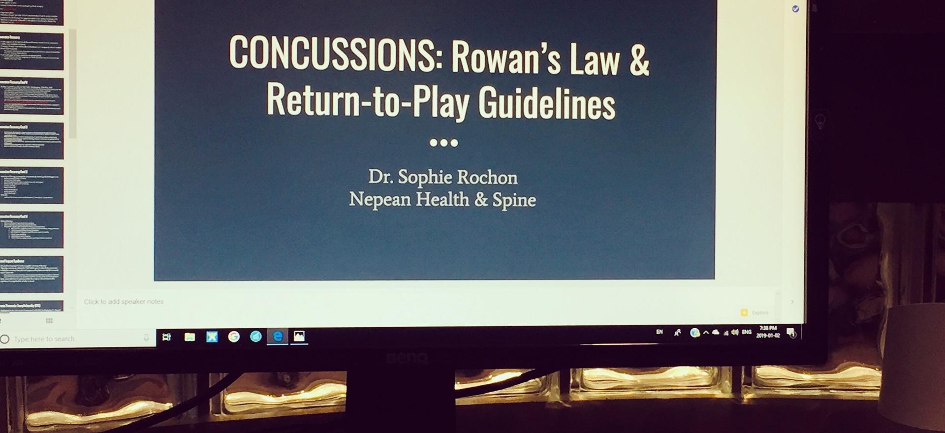 custom athletic or injury prevention pre