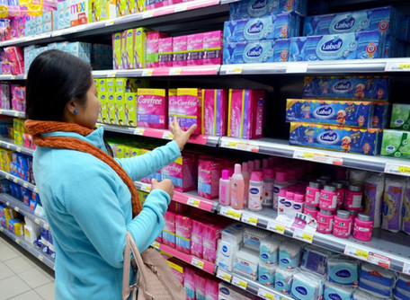 Bill to Exempt Feminine Hygiene Products from GA Sales Tax