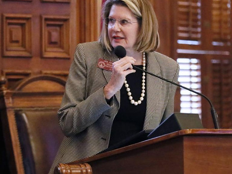 Georgia House's top woman opposes tampon bill, seeks other remedies