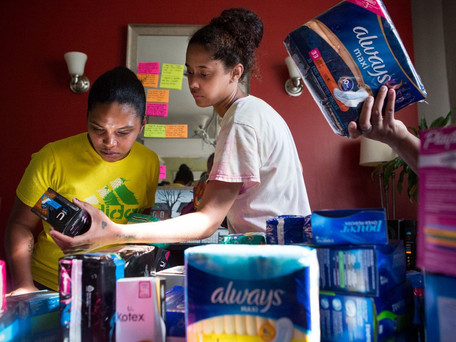 Student Provides Feminine Products for High School Bathroom
