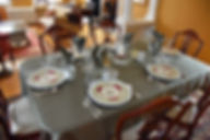 Dining room of the Apple Tree Historic B&B