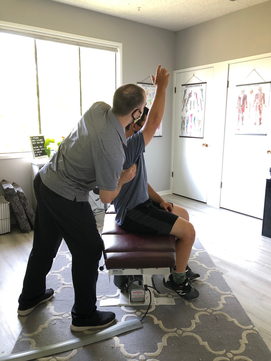 Soft Tissue Therapy Study on Shoulder Performance of Baseball Players