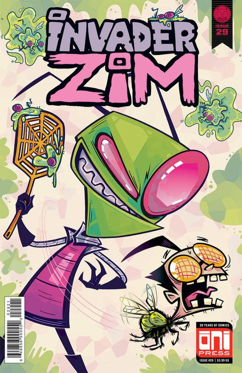 Invader Zim Variant Cover