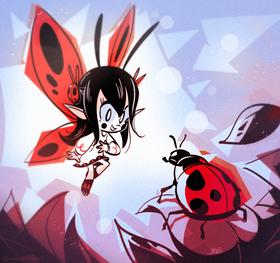 Lady Bug Fairy