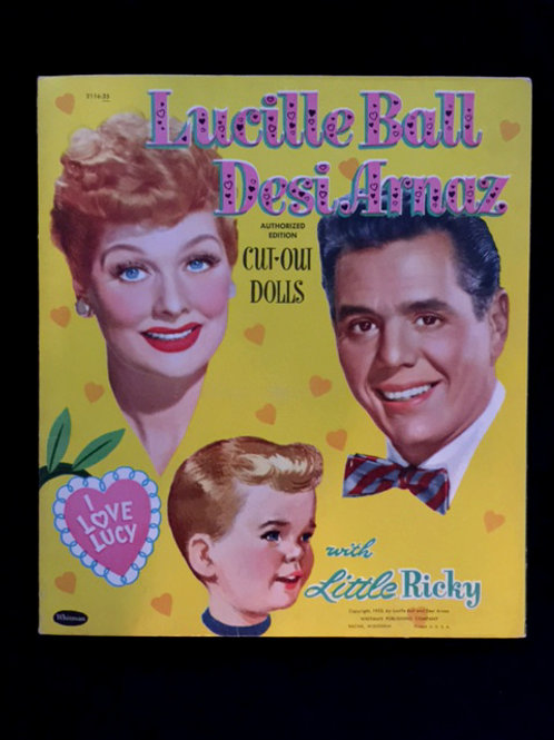 I Love Lucy Cut Out Dolls - Already CUT 1953