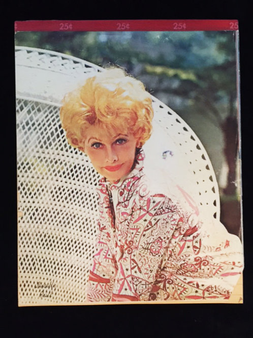 Lucille Ball 1960's Pencil Tablet
