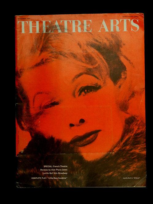 Theatre Arts Magazine December 1960