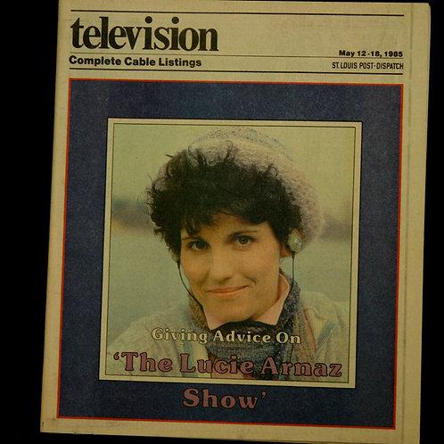 Television Newspaper Supplement: Lucie Arnaz