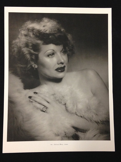 Lucille Ball Trading Card/Postcard
