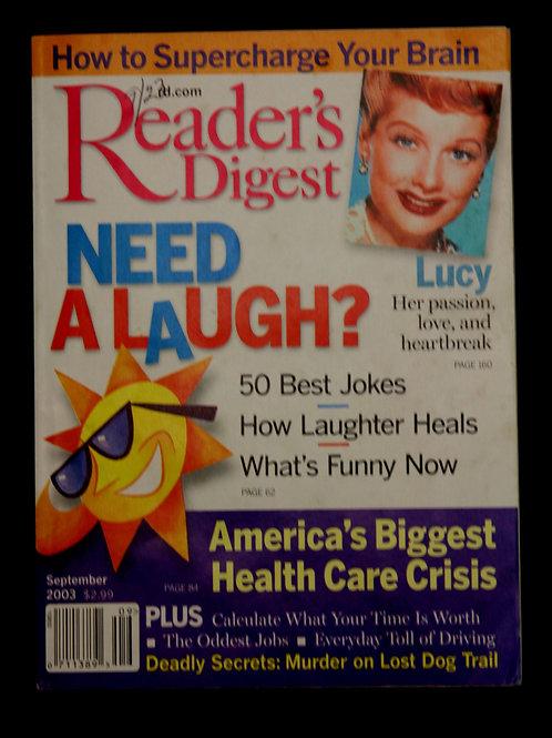 Reader's Digest September 2003