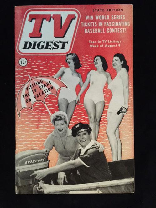 "TV Digest ""TV Stars On Vacation"""